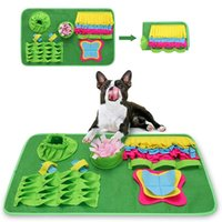 Kennels & Pens Sniffing Mat Washable Dog Cat Smell Training Pad Consume Energy Puzzle Pet Toys Treat Dispensing Puzzles Smart