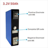12V lifepo4 battery pack 50Ah electric motorhome golf outdoor solar rechargeable 4PCS 3.2V lithium battery