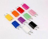 Universal UE EUA Adaptador de parede de gordura Plug USB Home Travel Charger Power Cube 1A e Charuto custo-benefício para smartphone móvel 4S 5S Android S3 S4 S5 Nota 3 Alta Qualidade.