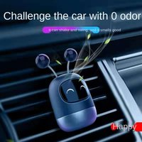 A generation of vibrato with the same robot car air outlet aromatherapy new cartoon perfume
