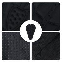 Bike Saddles Comfy Cycling Pad Seat Saddle Cover 3D Cushion (Black)