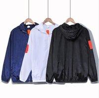 Мужские куртки весенние лето осень тонкие мужские пальто мода дизайн черный синий белый солнцезащитный повседневная уличная улица