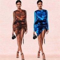 Casual Womens DressSleeveless Kleider Kleider Plissee Star Galaxy Sky Black Print Tutu Kleid O Neck Party Damen Damen Kleid # AJ6