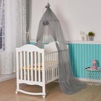 Crib Netting Baby Mesh Yarn Bed Canopy Mosquitoes Net Curtain Dome Hanging Tent Kids Room Decor