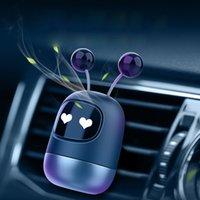 Bonito robô carro ventilação clipe aromaterapia fragrância Óleos essenciais difusos acessórios desenhos animados perfume ar refrogerador casa decoração