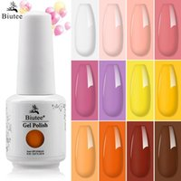 Gel de ongles bieue polone manucure pour ongles semi permanent Vernis 8ml UV LED trempe de la base de la base de la vernis art