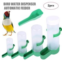 إمدادات الطيور الأخرى 1 مجموعات الطيور مع نوافير الشرب التلقائي صناديق سميكة مضادة للرش تغذية تغذية كأس الببغاء