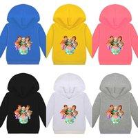 Детский свитер с капюшоном мультфильм Cocomelon мода повседневная одежда Топ T-Shrit с длинным рукавом JJ мальчиков девушки зима детские свитер одежда TL63G77A54Q