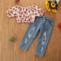 Girls Clothing Sets Outfits Baby Clothes Kids Wear Summer Sh...