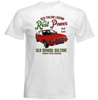 Vintage italien Alfa Romeo Alfasud Sprint Voiture - T-shirt Hommes Coton Coton Coton Mode Tee shirts