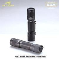 Nova Chegue Skilhunt E2A 14500 / AA 600 Lumens Compact Pocket EDC Mini LED Lanterna Luz 210322
