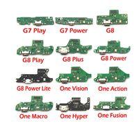 10 stücke Neues USB-Ladegerät Ladeport Dock Flex-Kabel-Mikrofon-Platine für Motorola Moto G5 G6 G7 G9 PLAY plus G8 Power Lite
