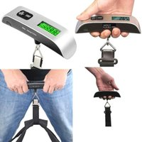 Portable Household 50kg 10g Mini Digital Scale For Fishing Luggage Travel Weighting Steelyard Electronic Hanging Hook Scales