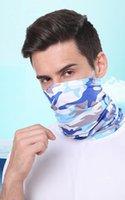 Scarves Sunscreen Silk Turban Men And Women Outdoor Magic Scarf Multifunctional Sports Bib Riding Variety Camouflage Elastic