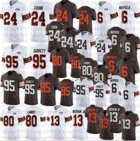 2021 New Men 24 Nick Chubb 1946 Jersey 95 Myles Garrett 13 Odell Beckham JR 6 Baker Mayfield 80 Landry Stitched 75 jerseys