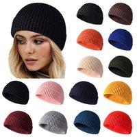 Beanies Winter Knitted Hat Women Beanie 2021 Autumn Warm Soft Trendy Kpop Style Hats Girls Warmer Bonnet Ladies Casual Cap