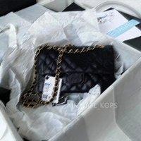 7A + Designer Donne da donna Classic Chain Blap Bags Lady Should Femmina Crossbody Bag Borse Borse Borse, Originale Ufficiale IMPORTATE PELLE GENUINE PELLE