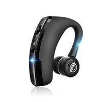 V9 CSR يدوي سماعات سماعات بلوتوث سماعات سماعات الرأس تقليل سماعة الأعمال مع ميكروفون التحكم في مستوى الصوت الرياضي الأذنية لفون سامسونج حملة