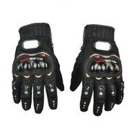 Мотоцикл пробикер на открытом воздухе на открытом воздухе рыцарь все пальцы ветрозащитные и холодные теплые перчатки