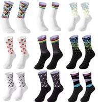 New Anti Slip Seamless Cycling Socks Integral Moulding High-tech Bike Sock Compression Bicycle Outdoor Running Sport Socks