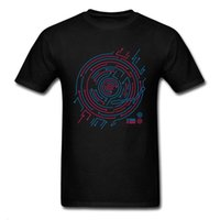 En iyi Hediye T Gömlek Neon Ekolayzır Labirent Grafik Tshirt Erkekler Için Yeni Stil Yaz Tee Gömlek Faddish Tees toptan [zumsp69@163.com