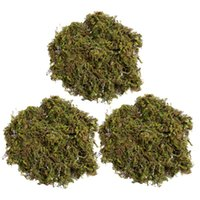 Decorative Flowers & Wreaths 3 Packs Artificial Moss Lichen Decoration Simulation Fake Green Plants Ornament For Home Garden Patio (About 15