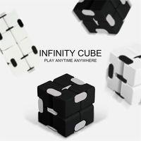 Figet toys popit Antistress Children's Fingertips Decompress Portable Lightweight Magic Square figet cube Cuborubik