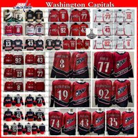 2021 Reverse Retro Washington Capitals 8 Alex Ovechkin TJ Oshie Hockey Jersey Evgeny Kuznetsov Backstrom Wilson Carlson Lundqvist Jakub Vrana Champions Shirt