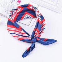 Профессиональная стюардесса квадратный полотенце 50 * 50 подарков волшебный шелковый шарф маленькая квадратная леди