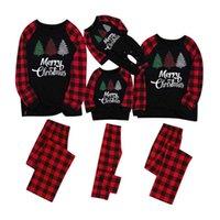 NewChristmas Family Pyjamas Sets Papa Mom Enfants Baby Famille Association de Sleep Heightwear Noël Nuit Noël Pyjamas Party Porter EWA1839