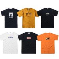 19SS Erkekler Gömlek T X1227 Kadınlar Yüksek Gömlek KITH Gömlek Kalite KITH Mens 1: 1 Casual T-shirt FFNWS