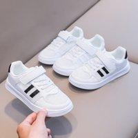 어린이 소년 캐주얼 신발 패션 디자이너 여자 운동화 봄 가을 검은 아이 학교 신발 판매