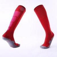 الجوارب الرياضية 1 زوج مكافحة الانزلاق كرة القدم الرجال جورب كرة القدم الركبة فوق جوارب طويلة عالية لسلة البيسبول