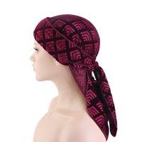 Nouvelle mode Velvet Velvet Durags Bandana Turban Chapeau Perruques Doo Hommes Durag Biker Bandeau Bandeau Pirate Hat Du-Rag Accessoires pour cheveux