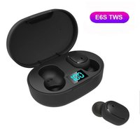 Headphones & Earphones Wireless E6S TWS Earbuds In Ear Sports Headset With Mic Bluetooth-compatible5.0 For Mobile Phone