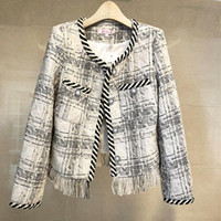 Small Fragrance Jacket Female Spring 2021 Short Chic Ladies ...