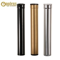 Tube de cigare unique Weilongxin avec hygromètre hydratant en aluminium en métal de métal