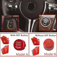 ABS Car Steering Wheel M1 M2 Button & Start Engine Switch Cover Fit For BMW M3 M4 M5 M6 X5M X6M F10 F15 F16 F30 F34 F36 M Sport
