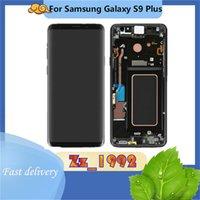 """Cep Telefonu Dokunmatik Paneller 6.2 """"Iyi Kalite Orijinal Samsung Galaxy S9 Artı G965 LCD Ekran Digitizer Çerçeve Ile"""