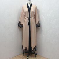 Abbigliamento islamico Donne etniche Abayas per Robe Arabo Arabo Dubai Musulman de Mode Caftan Marocain Modest Moda musulmana Moda