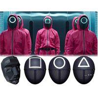 Fidget Toys Sensory HalloweensQuid Jeu Movie Périphérique Périphérique Masque Masque Plastique de haute qualité Enfants Adultes Jouet RRB11030