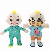 US Stock Cocomelon Pillow Soft Toys for Baby Plush Doll Educational Stuffed Kids Gift Cute Toy Chritmas Wholesale