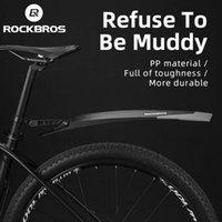 Rockbros Fender MTB Gummischwanz Weiches Fahrradweiter Vorderer hinterer Schutzblech