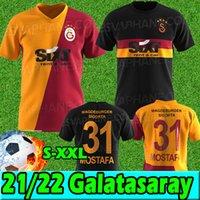 Galatasaray SK Soccer Jerseys 21/22 تركيا Süper Lig Deandre Fernandes Yedlin Mostafa Mohamed Marcelo Lemina Saracchi Diagne 2021 2022 قميص كرة القدم UNIFPR