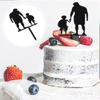 Other Festive & Party Supplies 20pcs Creative Father's Day Cake Toppers Cupcake Picks Fruit Dessert