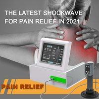 Professionelle Gesundheit Gadgets Extrakorporaler Shockwave-Therapie-Maschine Schmerzlinderung Massager Entspannung Schock Wave Physiotherapie Ed Behandlungsinstrument