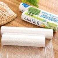 حاويات تخزين الغذاء الحاويات الفاكهة أكياس تغليف البلاستيك ساران التفاف 1 لفة المطبخ الطازجة حفظ الحرارة التوقف فراغ