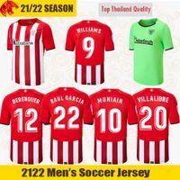 20 21 Athletic Bilbao maillots de football RAUL GARCIA 2020 2021 Maillot de football WILLIAMS BERENGUER Maillot de football VILLALIBRE Athletic Club MUNIAIN maillot