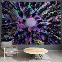 Wandteppiche Mondwald Bunte Wandteppich für Schlafs Schlafzimmer Wohnzimmer College