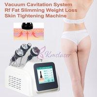RF Ultrasonic 80K Cavitation Body Slimming Machine For Fat Reduction Skin Lifting Facial Care Beauty Salon Spa Equipment